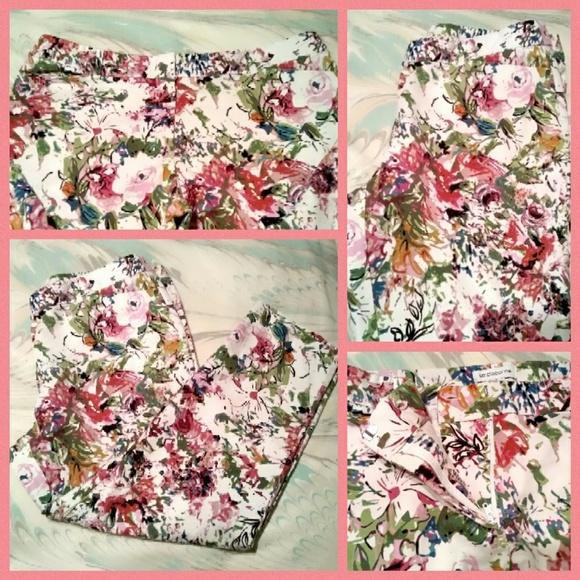 c68101abfe5 Liz Claiborne Pants - Liz Claiborne Plus Size Floral Capri Pants Sz16